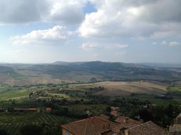 View from Podere Il Casale , Ann C - October 2014