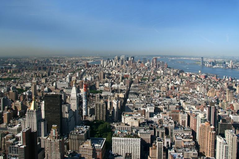 View from Empire State Building - New York City