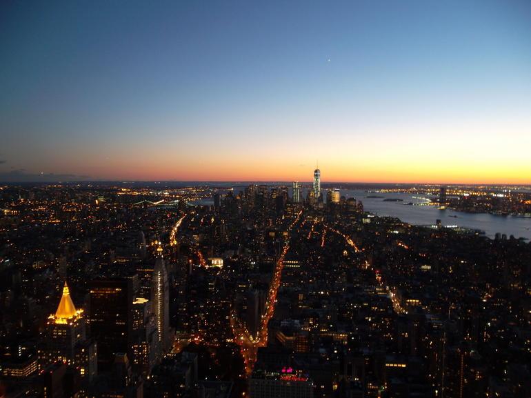 Vue de l'empire State building - New York City