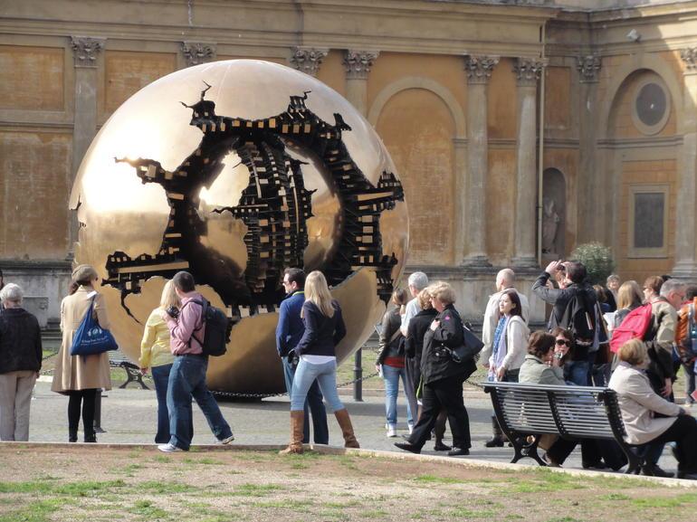 Weltkugel - Rome