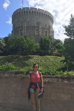 Melanie Bey, day trip from London. , Imam B - July 2016