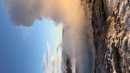 Geysir erupting , samanthasteele - February 2018