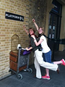 At Platform 9 3/4, the end of the tour , staceypinnock - June 2014
