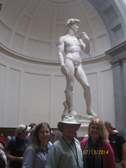 Two of us had been to Florence before and seen David- my sister had not. Yet I doubt our excitement was any less than someone seeing him for the 1st time. Taking this tour saved us a lot of time in ... , sharon m - August 2014