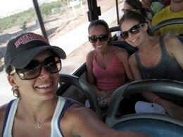 Bus Ride to the ATV Tour., Mo Burns - August 2011
