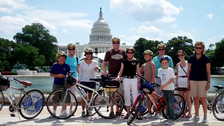 Capital Sites Bike Tour - Washington DC