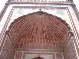 Main dome in the mosque , Balti-most - May 2011