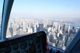 View over the pilots shoulder ;) , Natalie B - December 2010