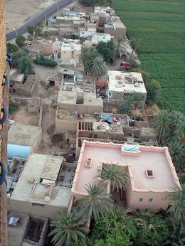 Flying over a small farming village, it was so quiet we could hear the goats and cows - October 2008
