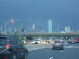 Manhattan right before hurricane Arthur on july 3rd 2014 , Virginie H - July 2014