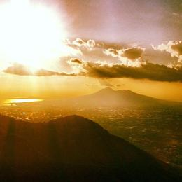 Mt Vesuvius, Ryan & Asha - April 2013