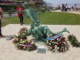 Omaha beach memorial , Kevin M - June 2014