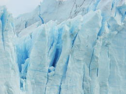 A zoomd view of the perito moreno blue glace , Paolo F - May 2014