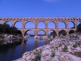 Ancient Roman aqueduct. , Kevin F - September 2012