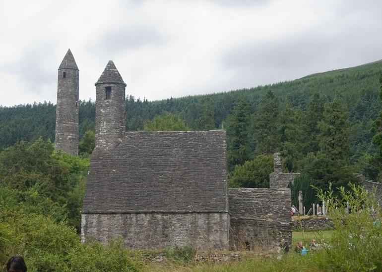St Kevin's Monastery at Glendalough - Dublin