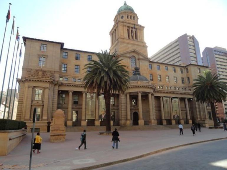 The old City Hall building - Johannesburg