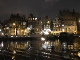Lovely night scenery travelling through the canals , Carlos A - November 2017