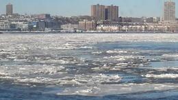 The frozen Hudson River. , Ian C - January 2018