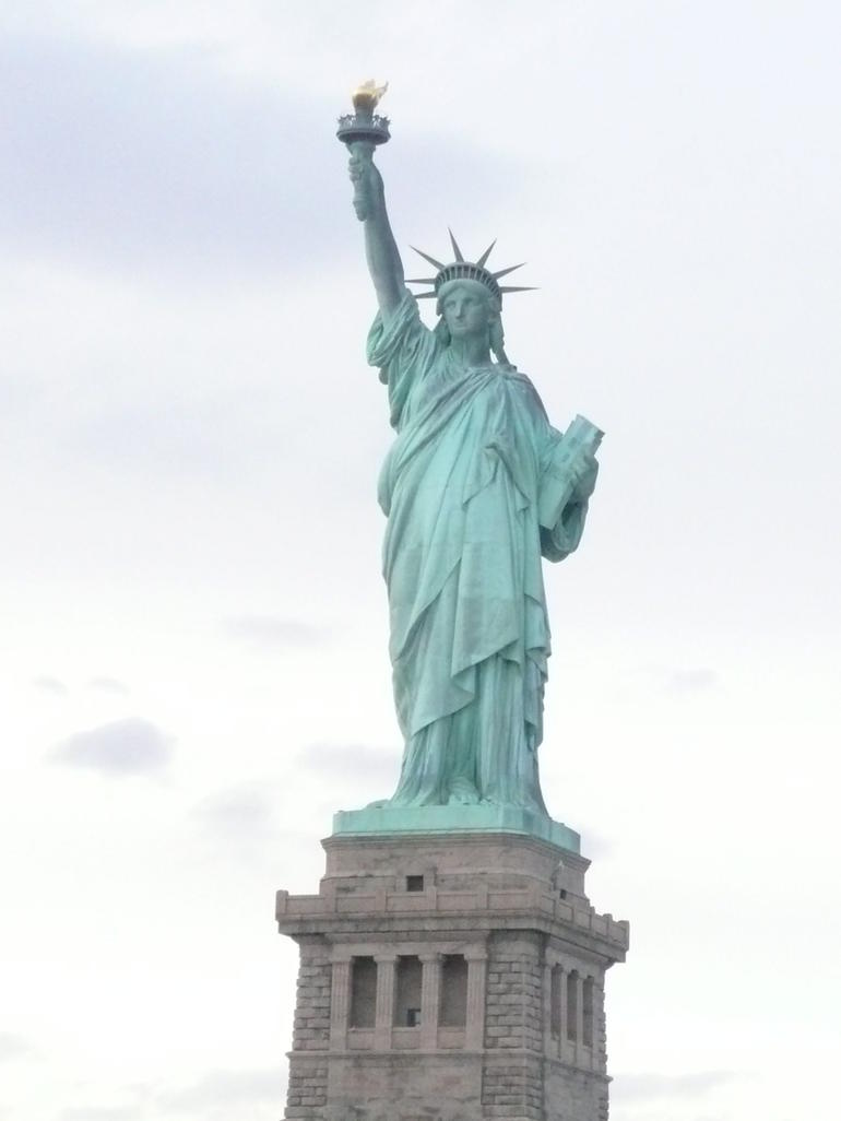 ample time permitted for liberty snaps - New York City