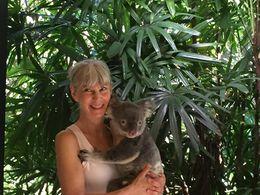 Me holding Cody , Brazzie - June 2016