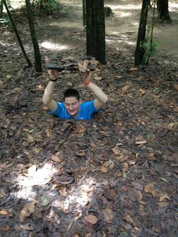 Cu Chi Tunnels trip , Daniel N - October 2014