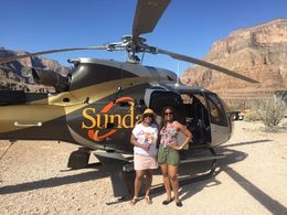 I went on the Grand Canyon All American Helicopter with my sister to celebrate her 40th birthday. What a special and memorable adventure! After views from the air we landed and got to take it all ... , S K P - June 2016