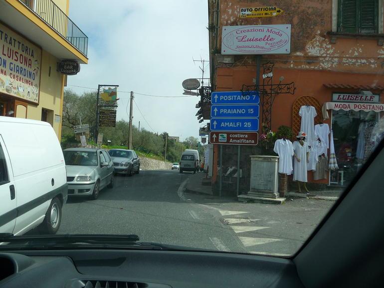 Igoing thru town - Naples