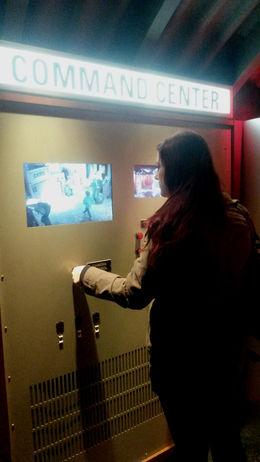 Controlling cameras around the exhibit - December 2014