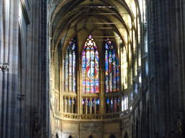 The Prague Cathedral is enormous and very beautiful inside. One of the finest in Europe. , Robin F - November 2014