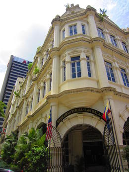 European facades in KL , Nadia S - March 2013