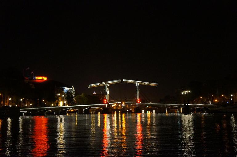 Magere Brug (Skinny Bridge) - Amsterdam