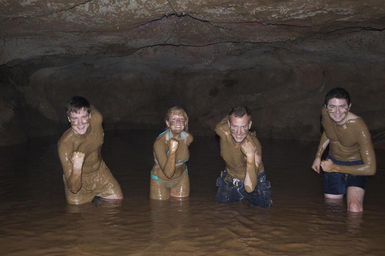 Mub baths in cave - Hong Kong