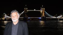 My hubby and the London Bridge. , Kenneth K - October 2013