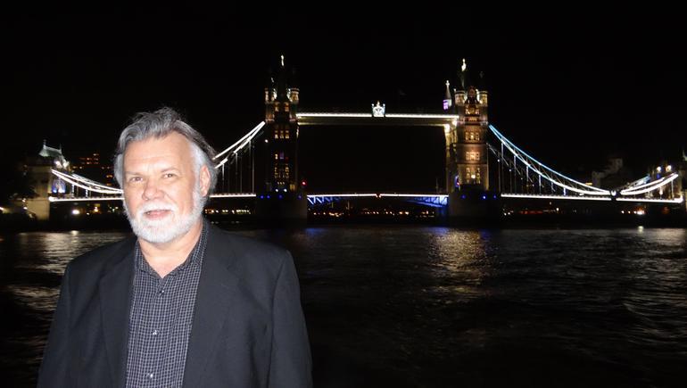 My hubby! - London