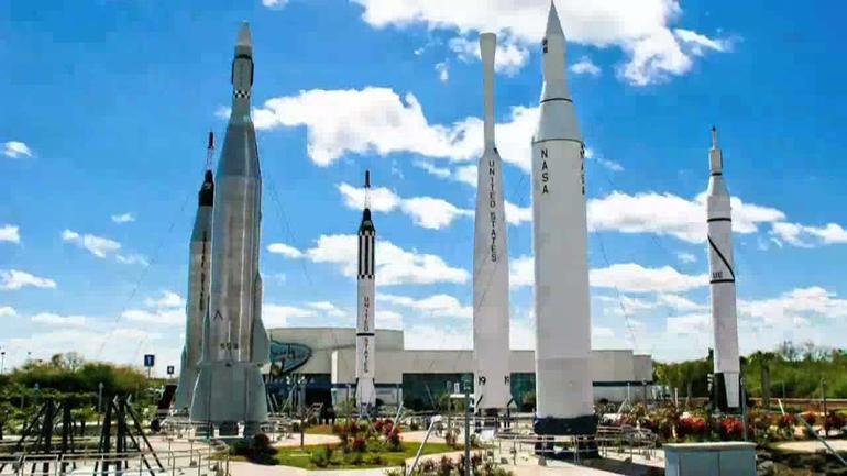 Rocket Ship Garden - Orlando