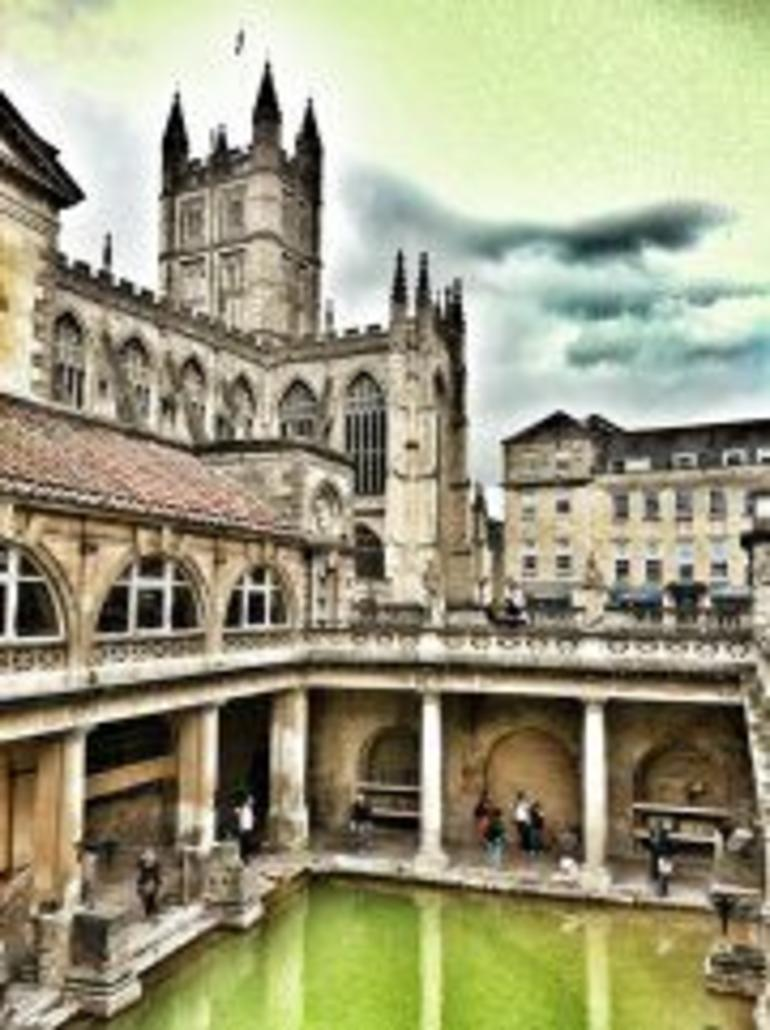 The Roman Baths in Bath - London