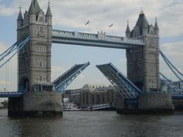 Managed to take this of the bridge opening , K H C - July 2014