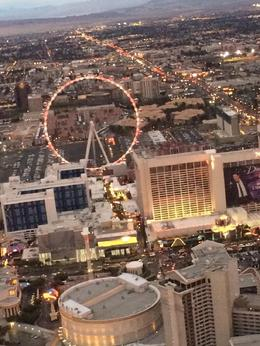 Flying over Las Vegas Strip, WelKnown - January 2017