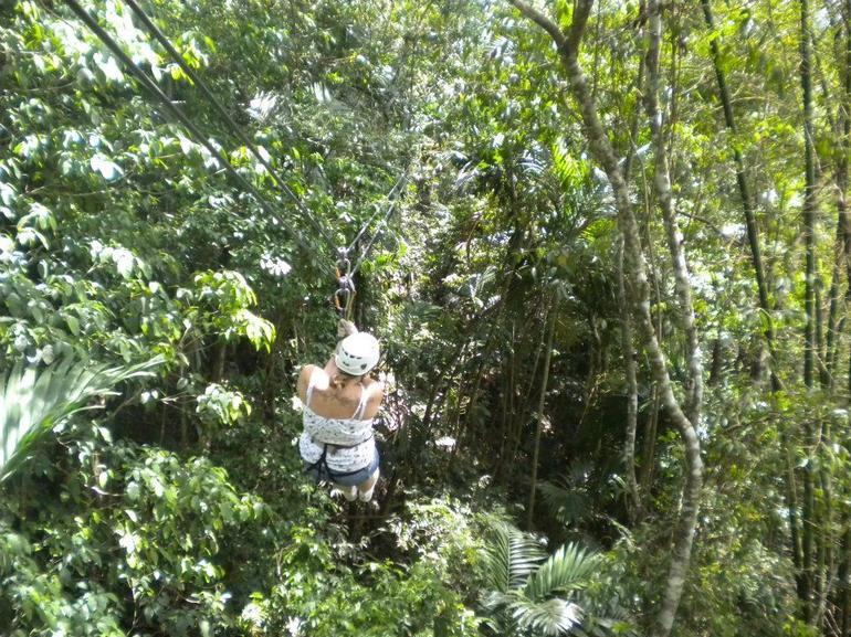 Ziplining - Montego Bay
