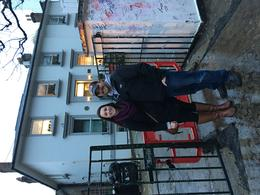 My husband and I in front of Abbey Road- our guide was our photographer : , Susan B - December 2016