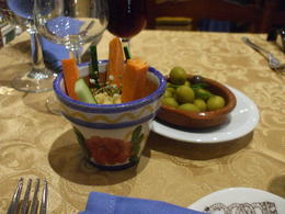 These are some of the appetizers that the restaurant put on the table. , laura m - September 2017