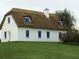 Thatched roof house. , Brenda B - October 2017