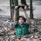 Medio día en los túneles Cu Chi desde la ciudad de Ho Chi Minh en lancha motora de lujo, Ho Chi Minh, VIETNAM