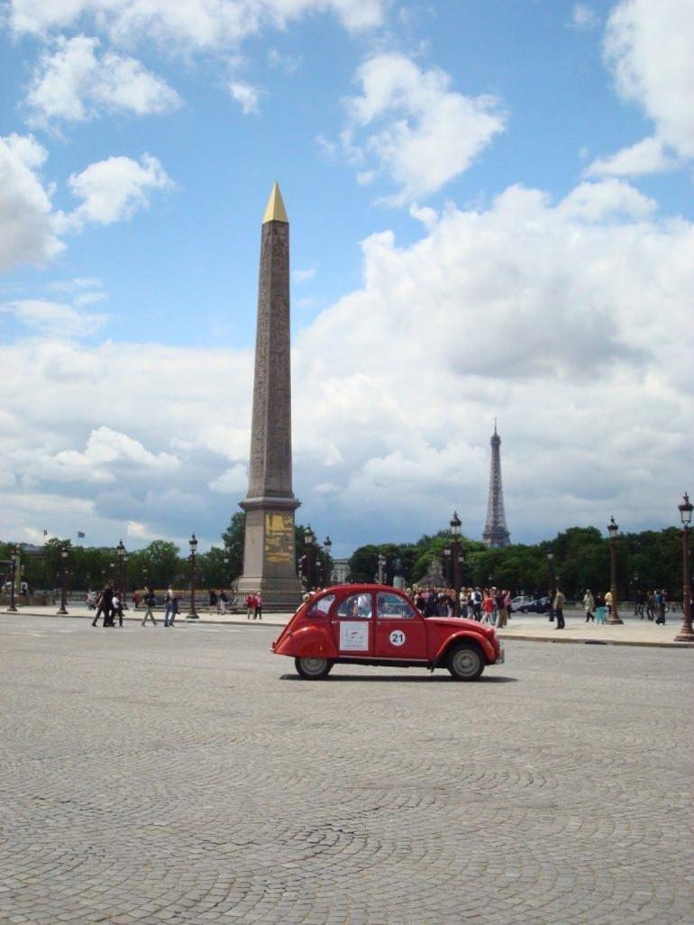 2CV tour - Paris