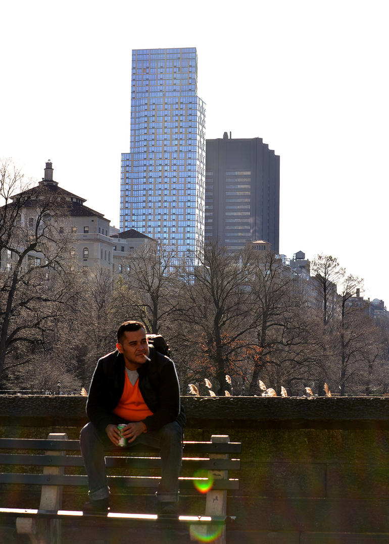 A breath in Central Park - New York City
