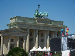 Brandenburger Tor , Lizzan - August 2014