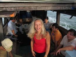 Bumboat Ride to Ubin , Yasmine D - March 2013