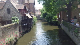 Bruges was an adorable old quaint town full of water ways which made me happy cause I love water. I liked how well history was maintained there as well. It's worth going if no other reason then to ... , traveling - September 2015