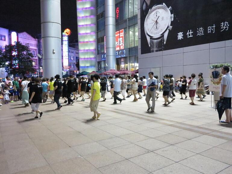 Dancing locals - Shanghai