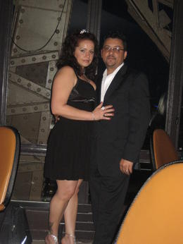 My Hubby and I after a romantic and very yummy Dinner , ARLENE D - August 2011